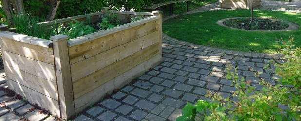 Godolphin raised beds