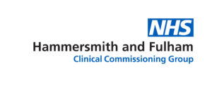 Hammersmith and Fulham CCG logo blue